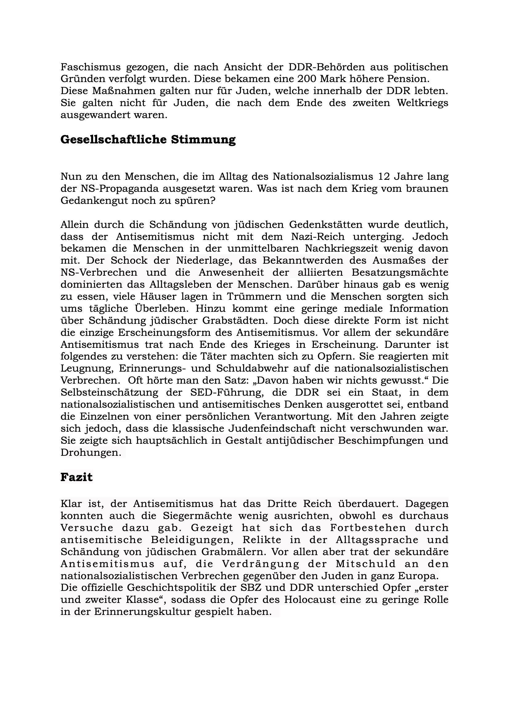 Artikel Antisemitismus nach dem Zweiten Weltkrieg-Seite 2